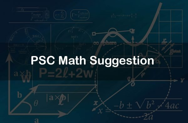 PSC Math Suggestion