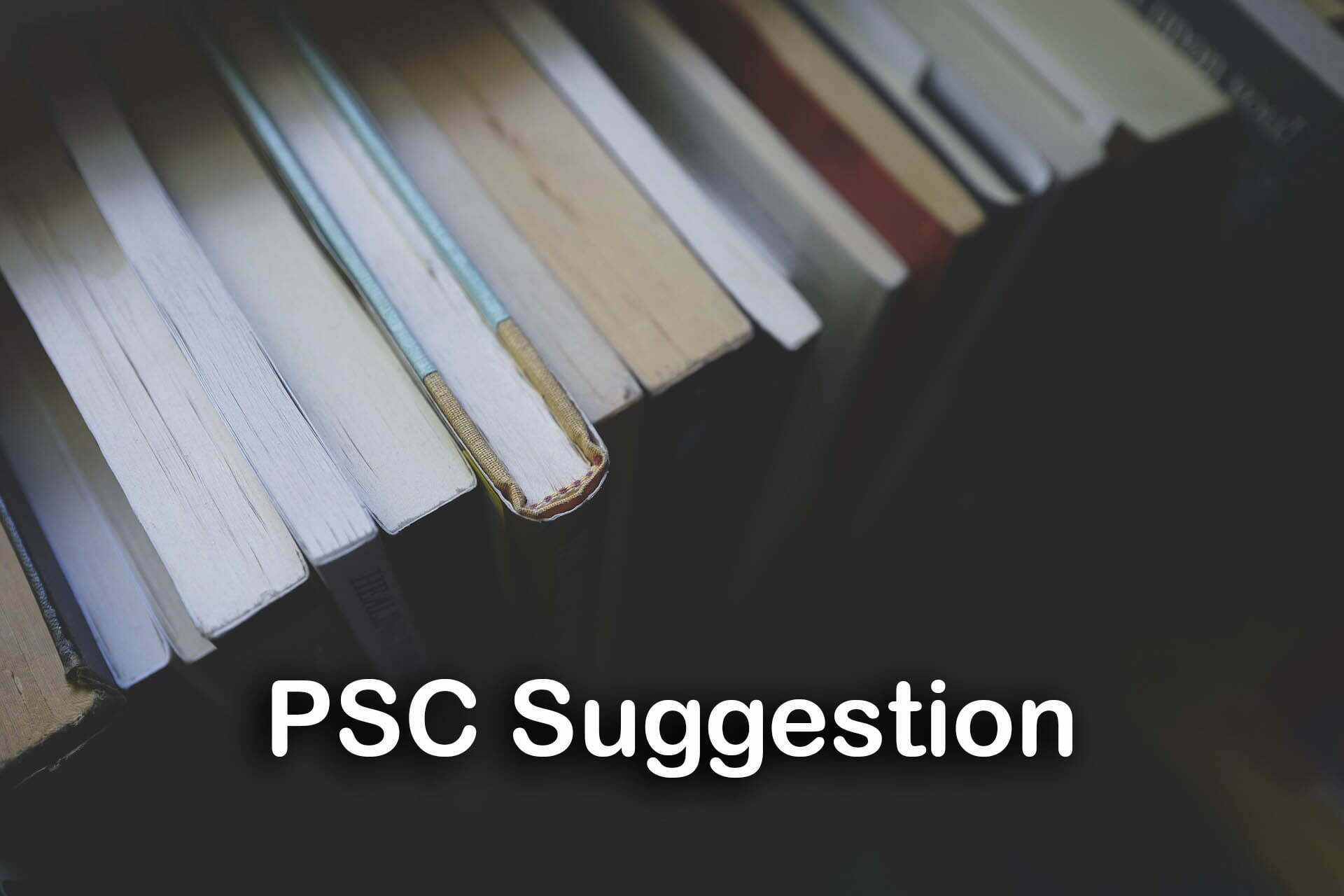PSC Suggestion