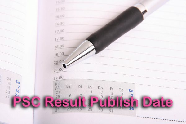 PSC Result Publish Date