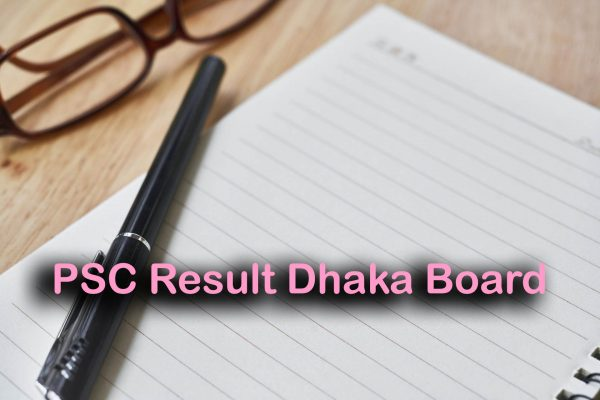 PSC Result 2019 Dhaka Board